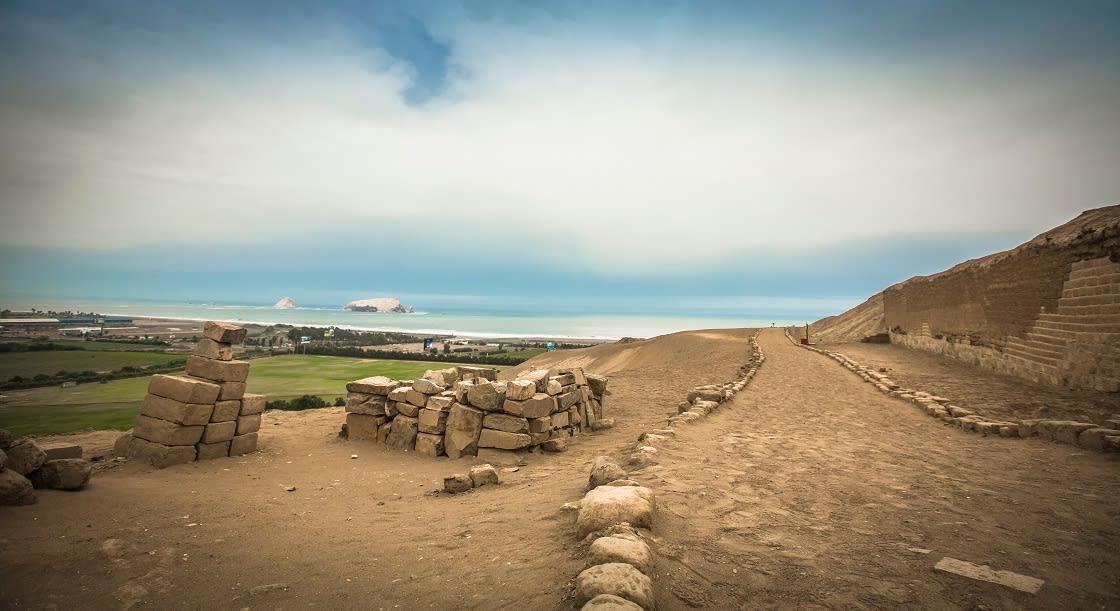 Pachacamac Archeological Site, South Lima