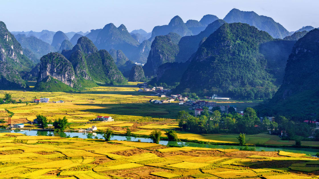 Sunny Valley in Vietnam