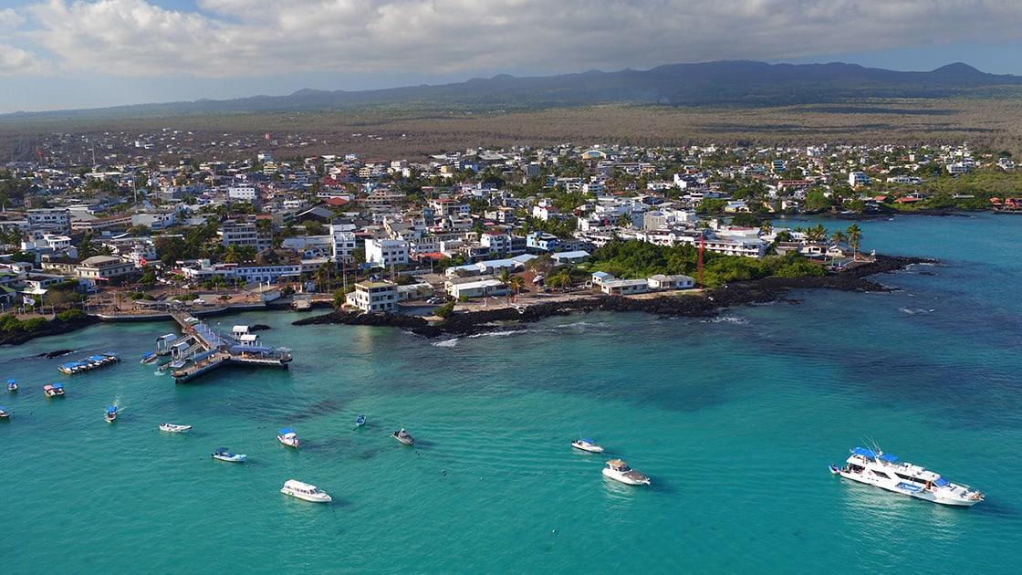 Aerial View Of Santa Cruz Island