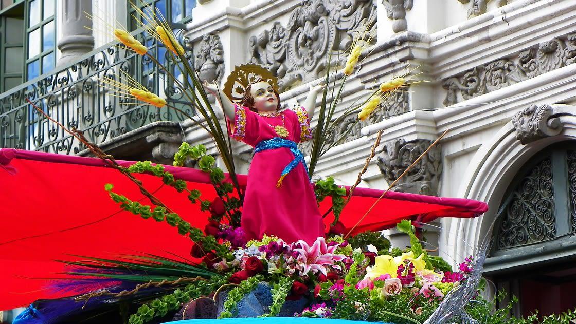 Traveling Child Parade, Ecuador
