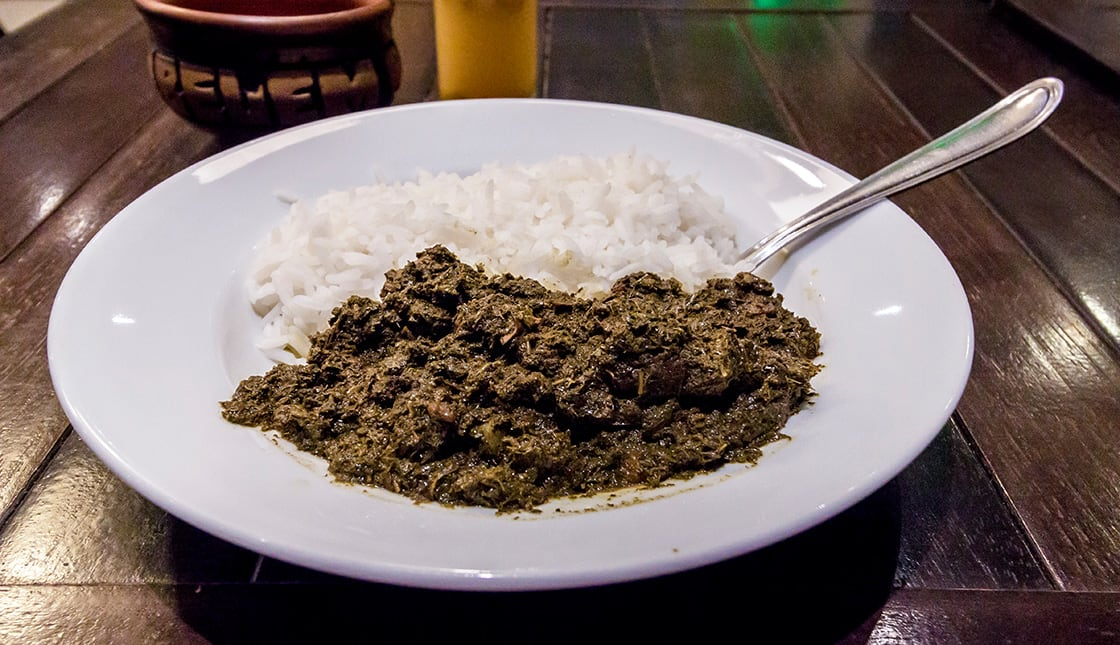 Manicoba Is A Traditional Dish Of The Brazilian Cuisine