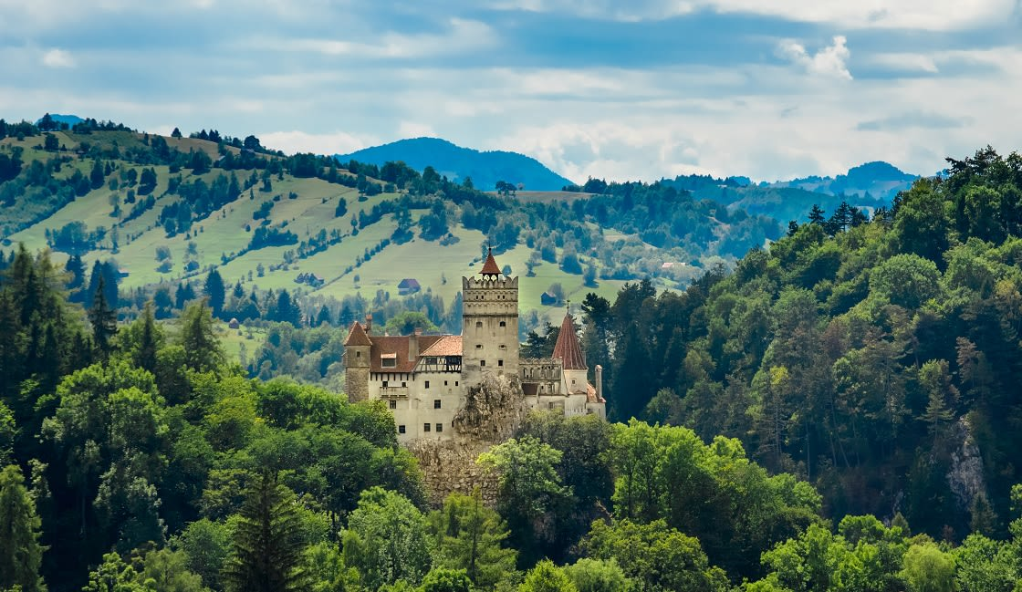 Bran,Castle,,Count,Dracula's,Castle,,Brasov,,Romania,,The,Mythic,Place
