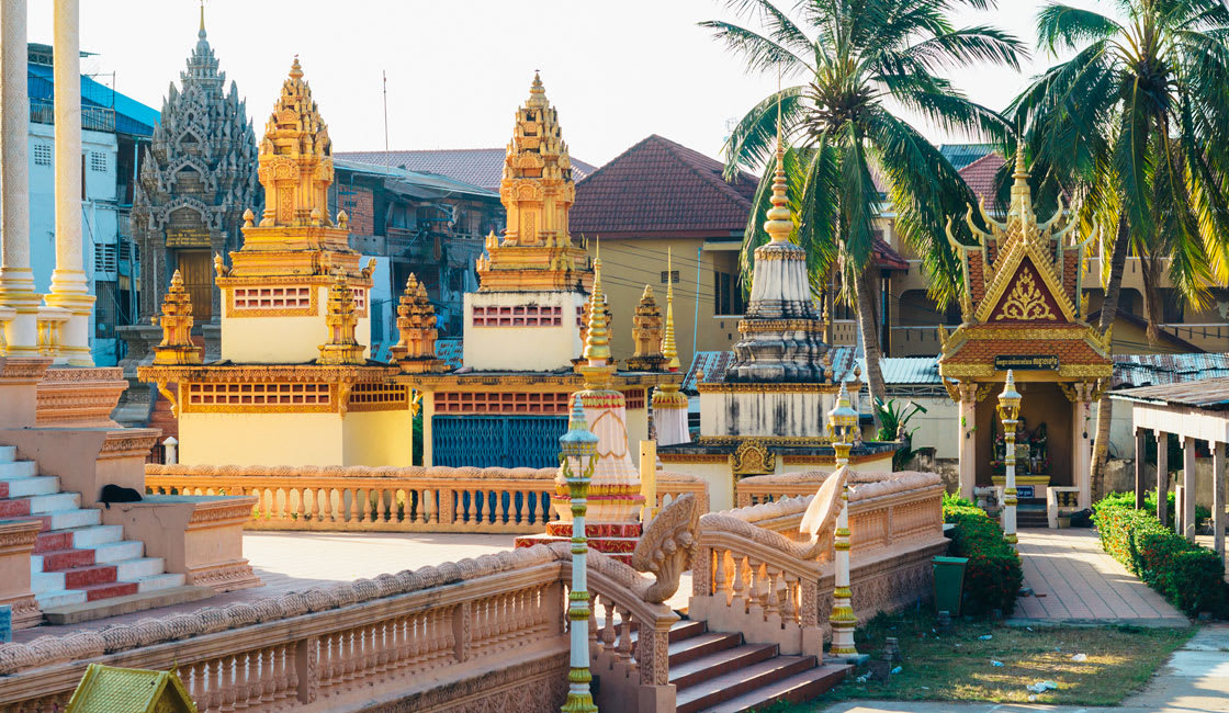 luxurious temple in cambodia