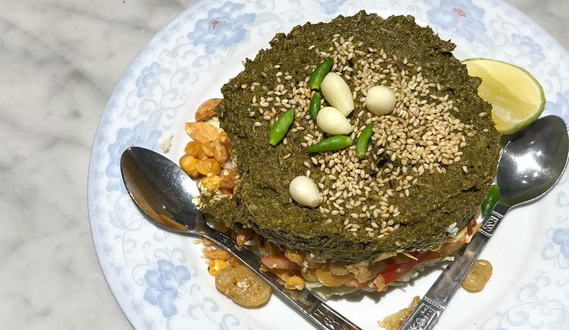 Asian-Food-Laphet-Thoke
