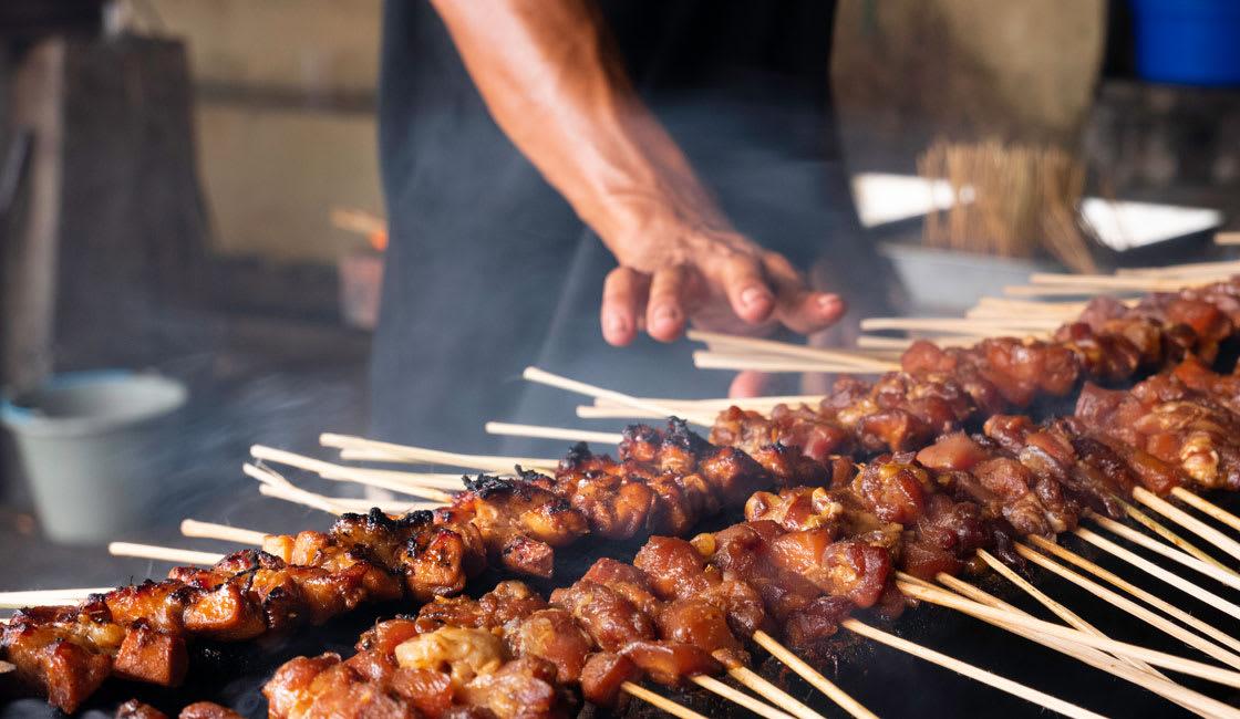 Asian Street Food Satay