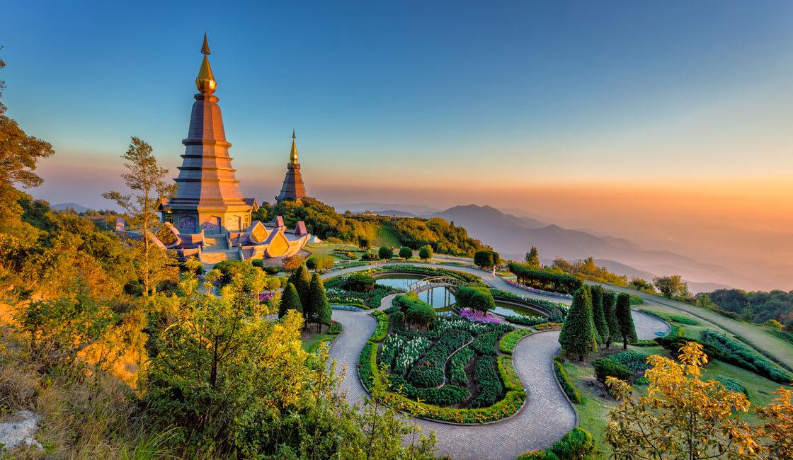 Chian Mai panoramic view