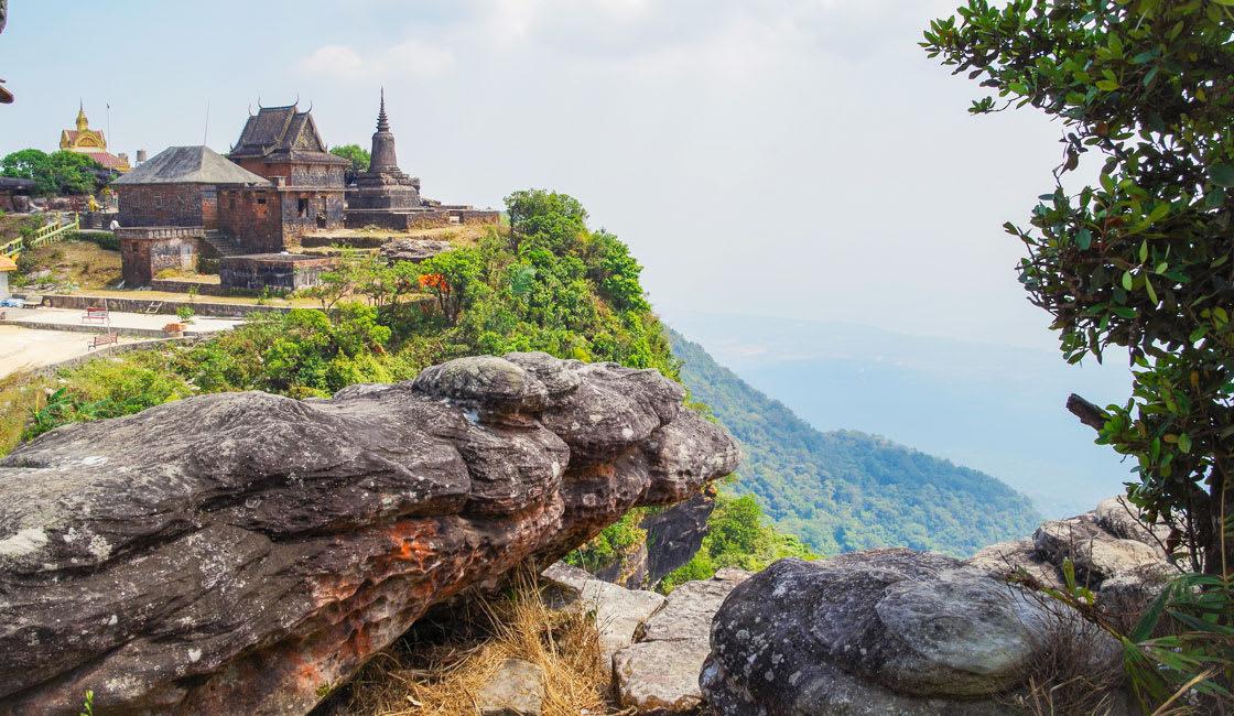 bokor temple in cambodia