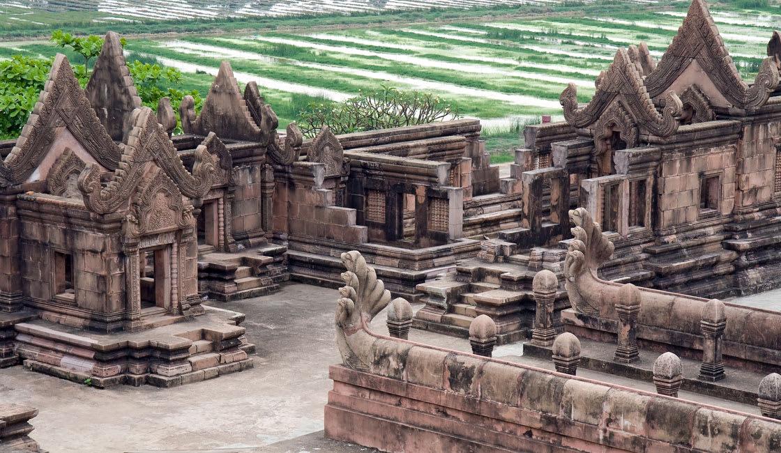preah vihear temple and gardens