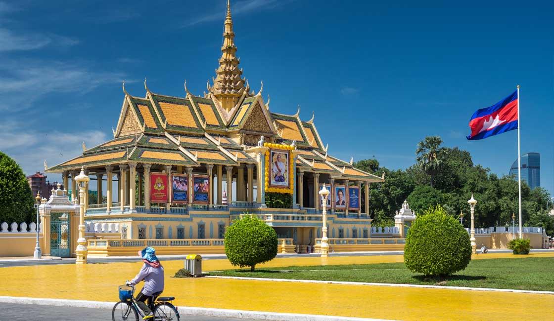 A Royal Palace in Phnom Penh