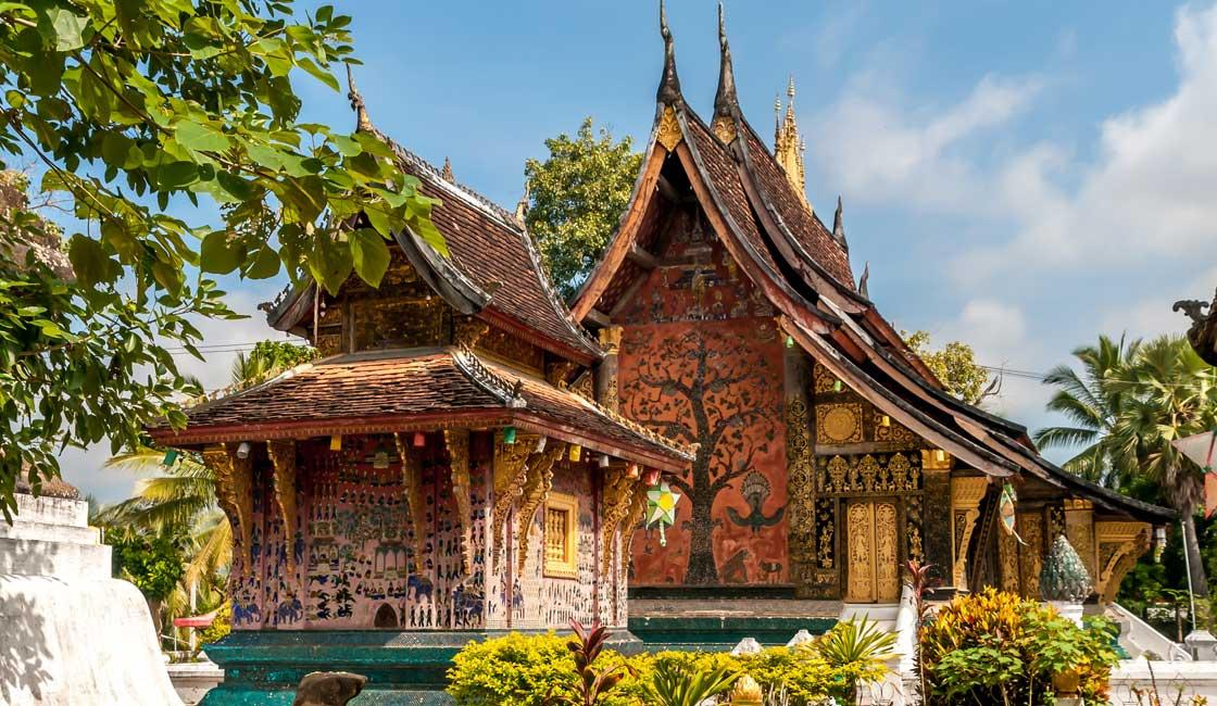 A temple in Luang Prabang