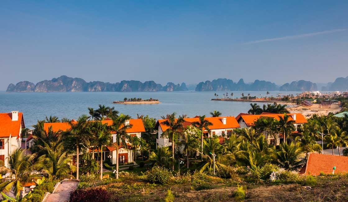 Tuan Chau Island and a Halong Bay view