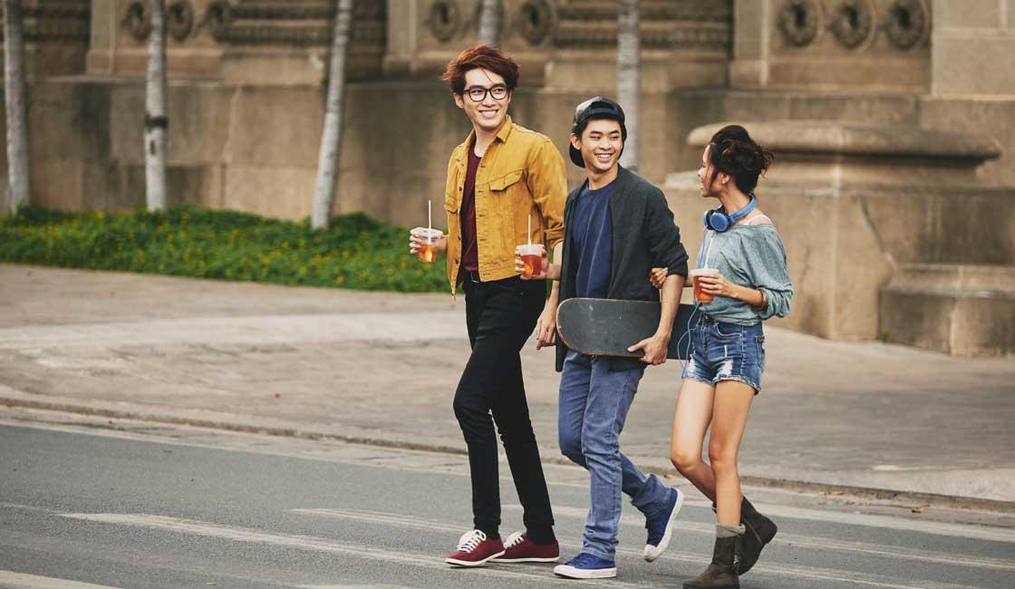 Vietnamese teenagers