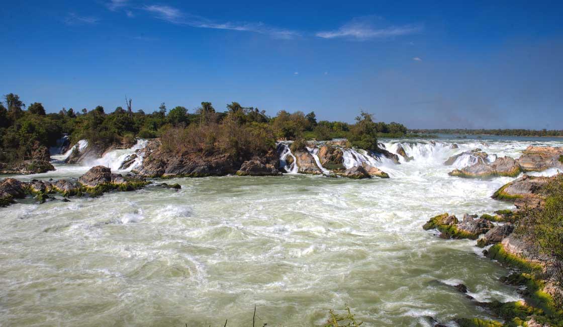 Rapids in Laos
