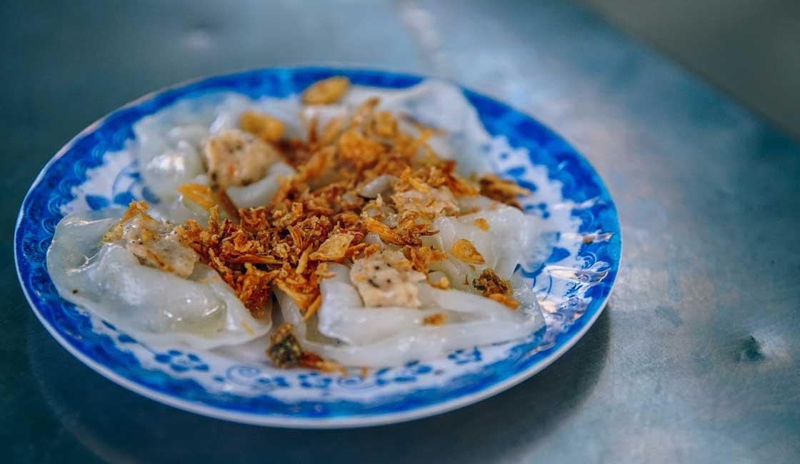 Banh Cuon on a plate