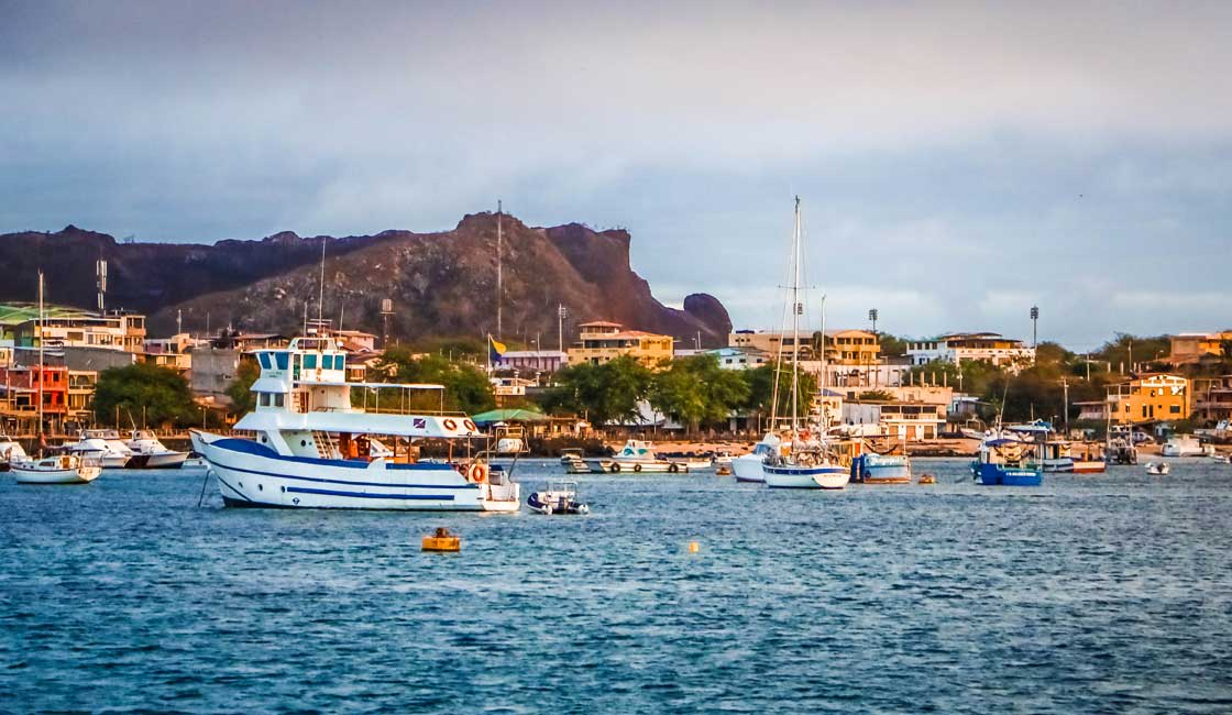 Port in Galapagos