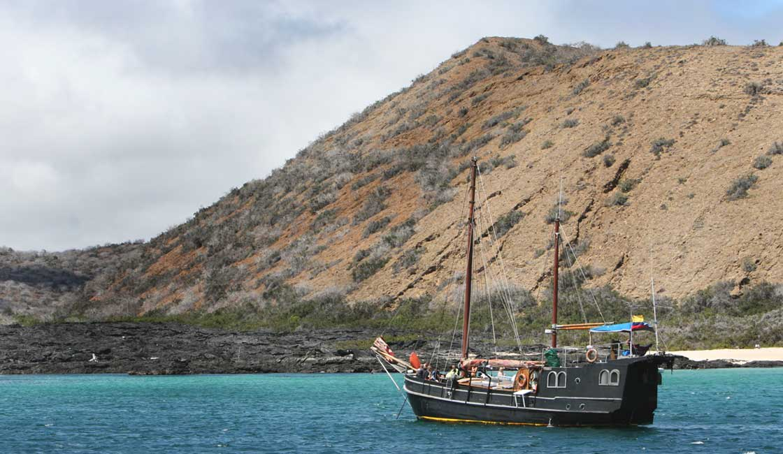 Modern day pirate ship