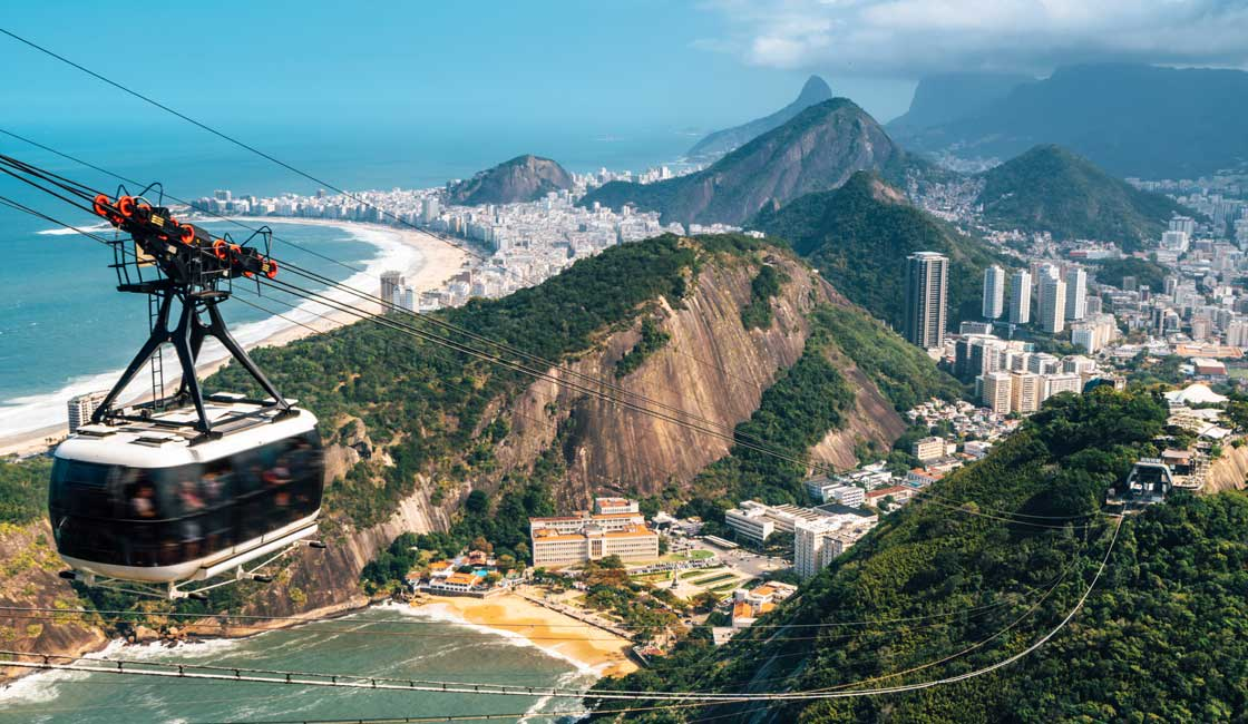 Cablecar over Rio de Janeiro
