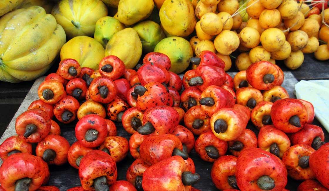 Fruit on a markt stall