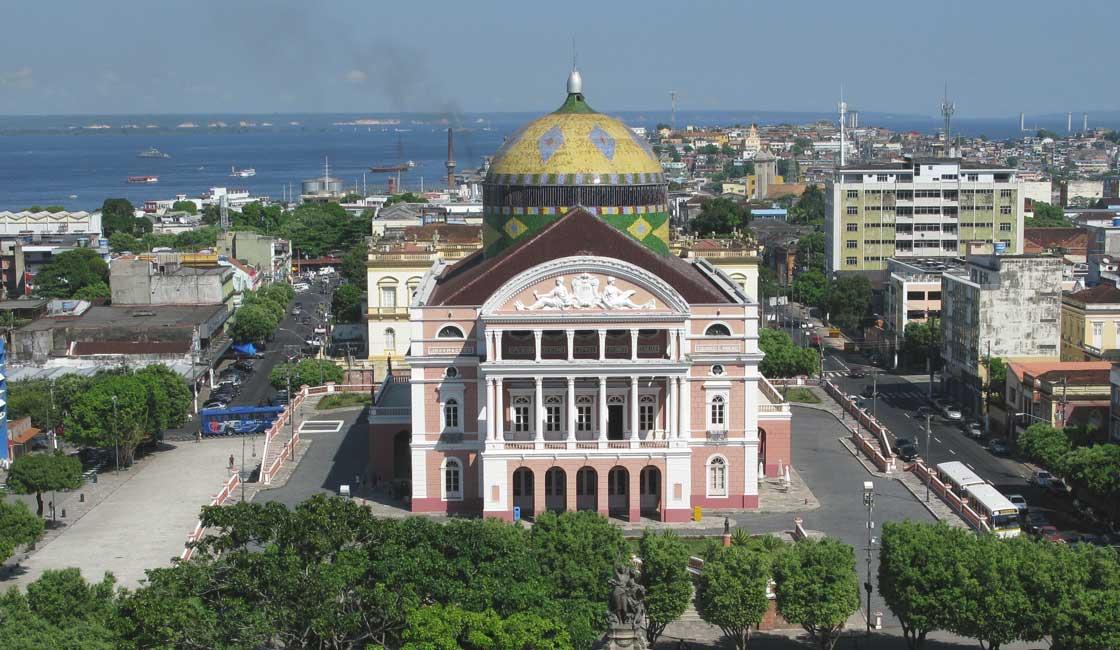 Large Theatre in Manaus