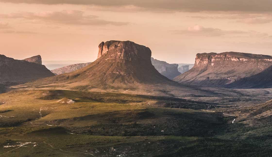 rRcky plains of Chapada Diamantina