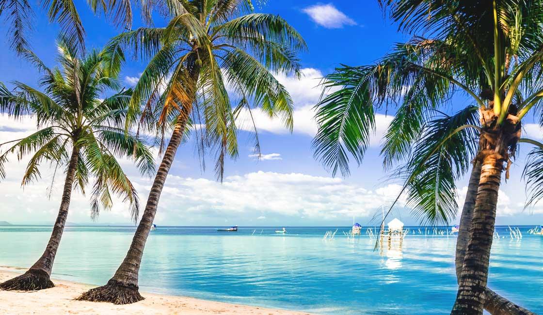 Beach on Phu Quoc