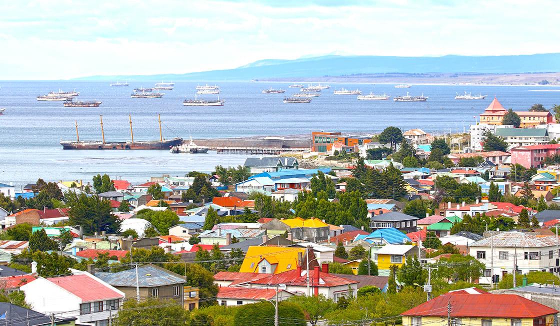 Scenic View Of Punta Arenas