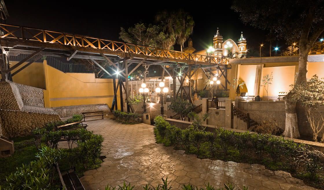 Traditional Bridge In Barranco