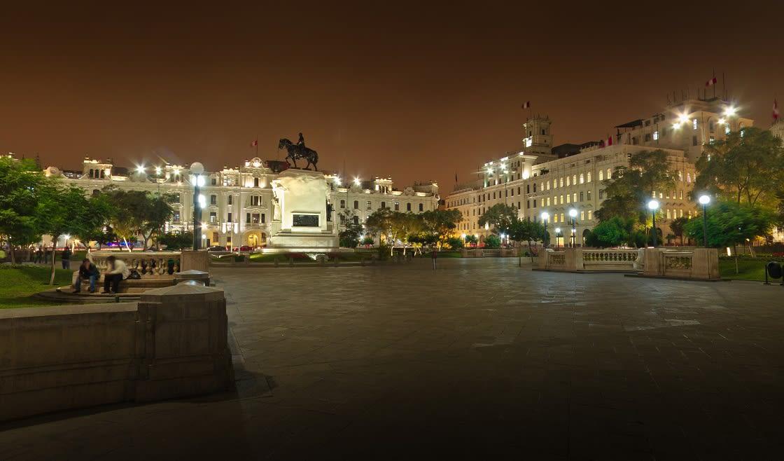 Beautiful San Martín Square