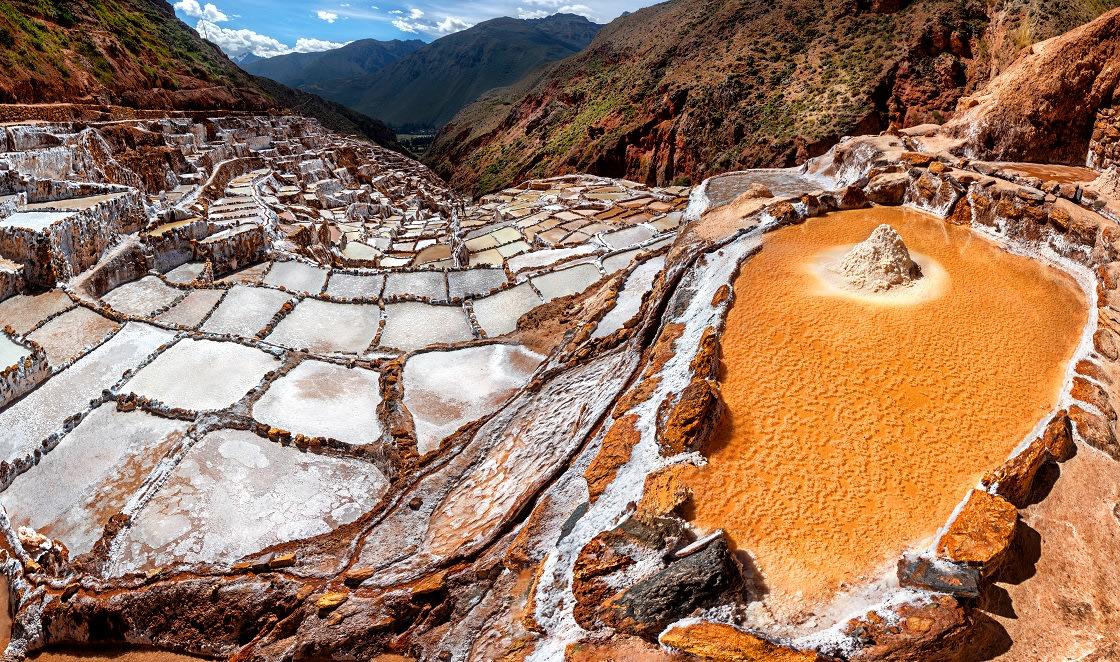Salt Mines In Maras, Sacred Valley - Peru
