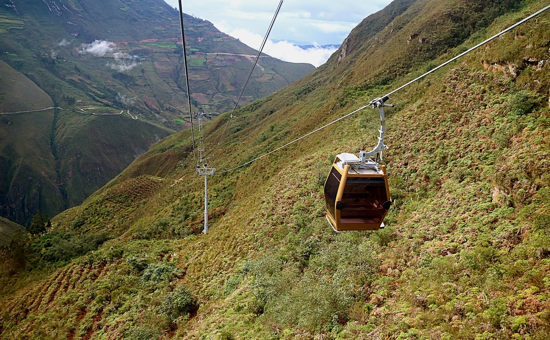 Telecabinas Kuelap Or Cable Car