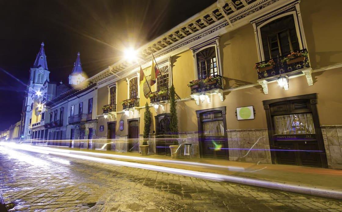 Street View Of Santa Lucia Hotel
