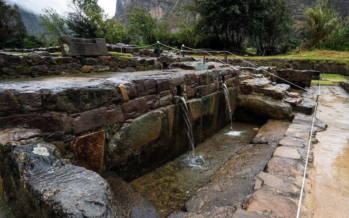 Water Temple In Ollantaytambo Fortress In The Sacred Valley, Cusco - Peru