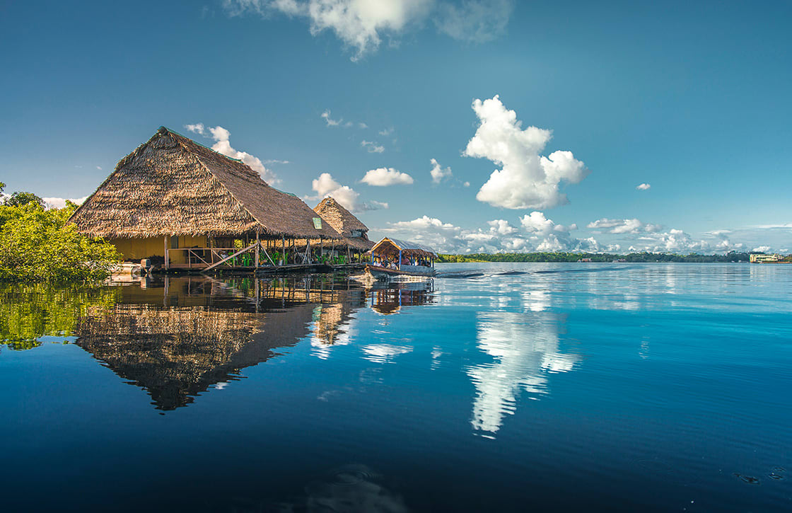 Travel,Nanay,River,In,Iquitos,,Peru