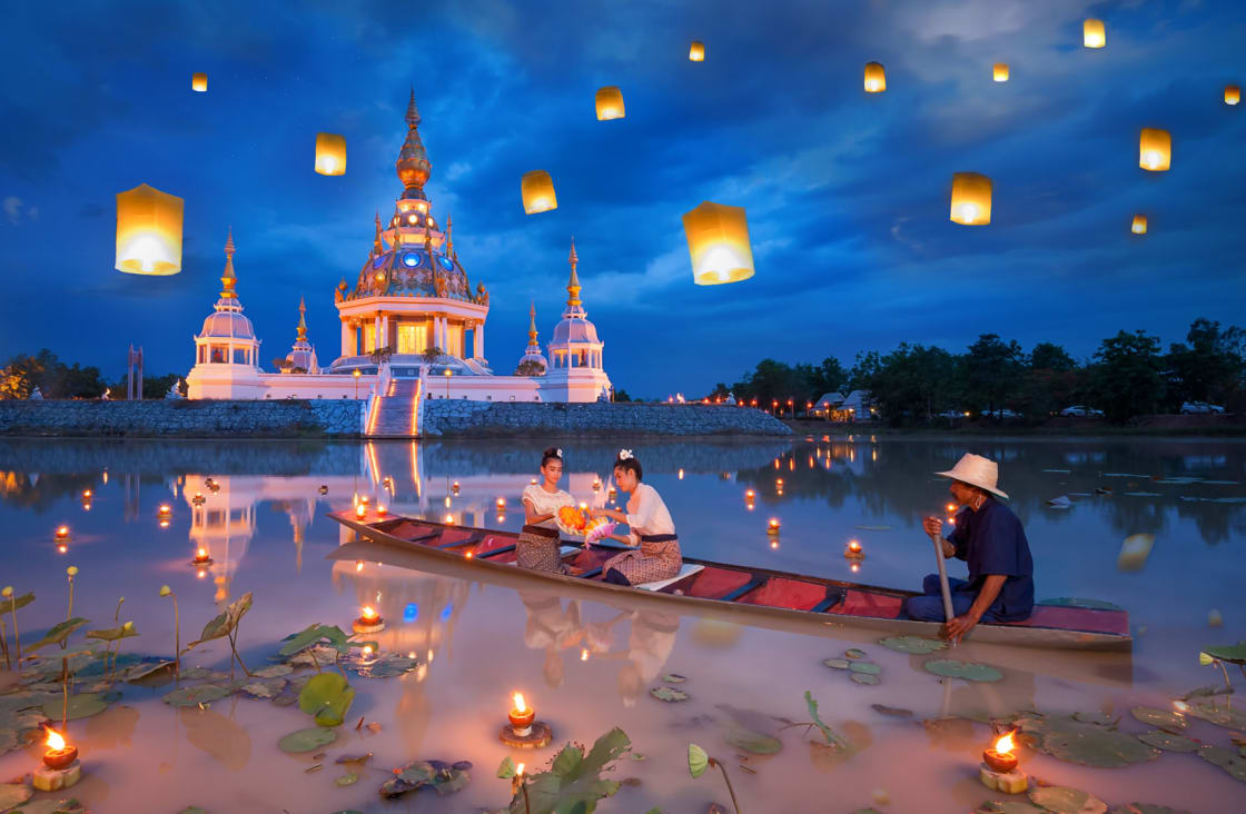 Vientiane is the country's most important Buddhist festival