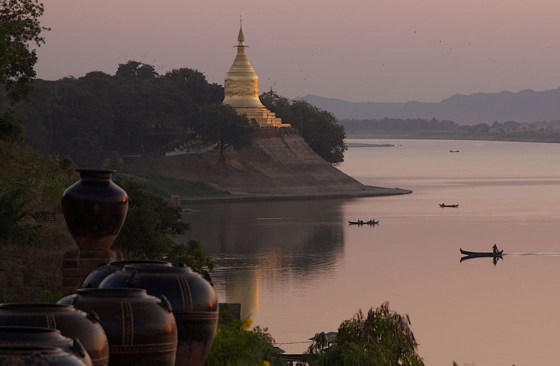 Best time to cruise Irrawaddy is from November to April