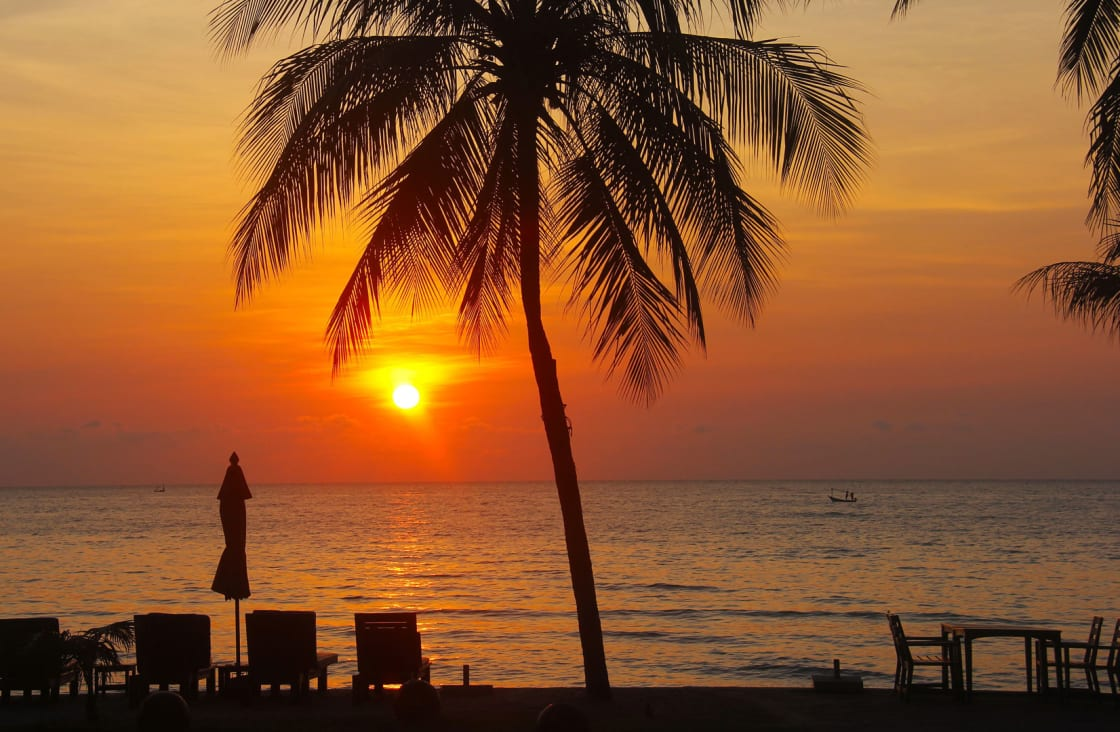 Sunset Adaman Sea
