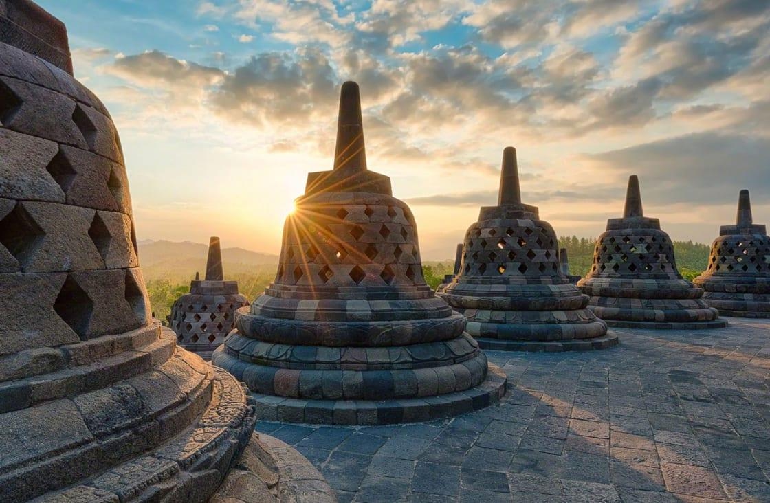 yogyakarta stone giant bells