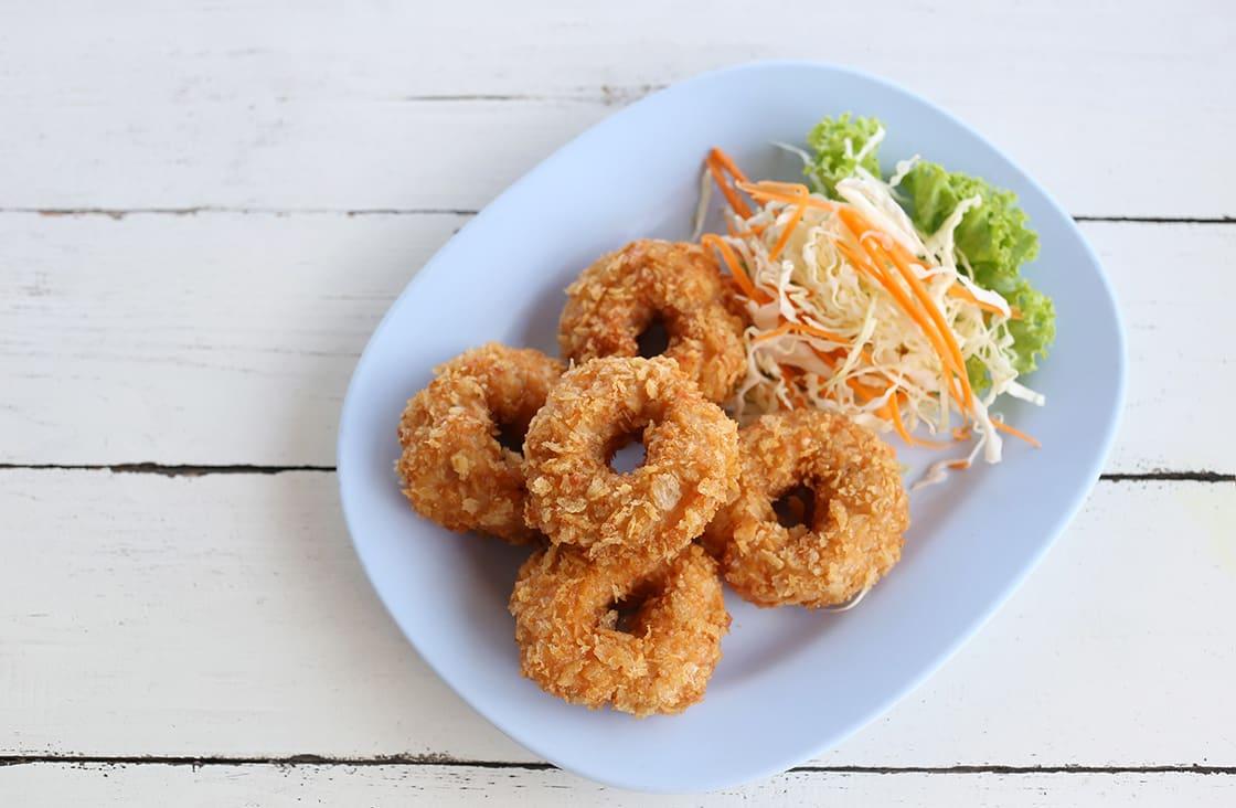 Banh Cong (Fried Shrimp Cake)