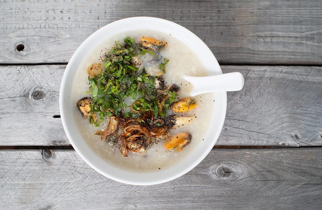 Acorn Barnacle Porridge (Cháo Hà)