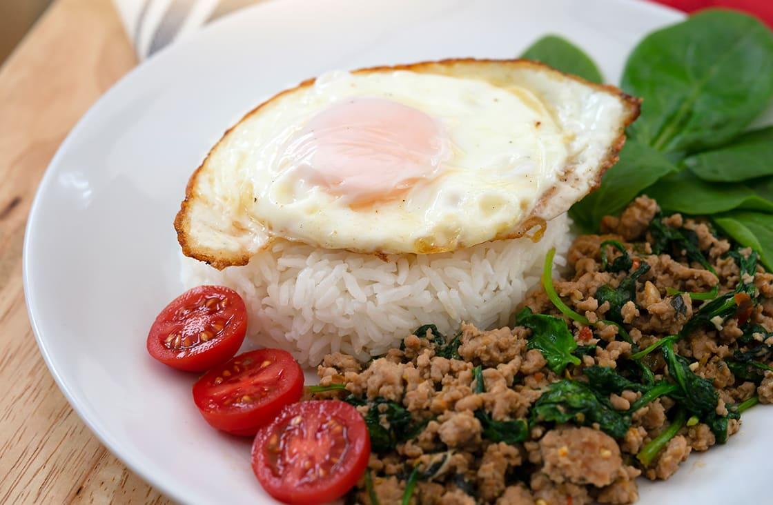 Stir-Fried Thai Basil & Pork