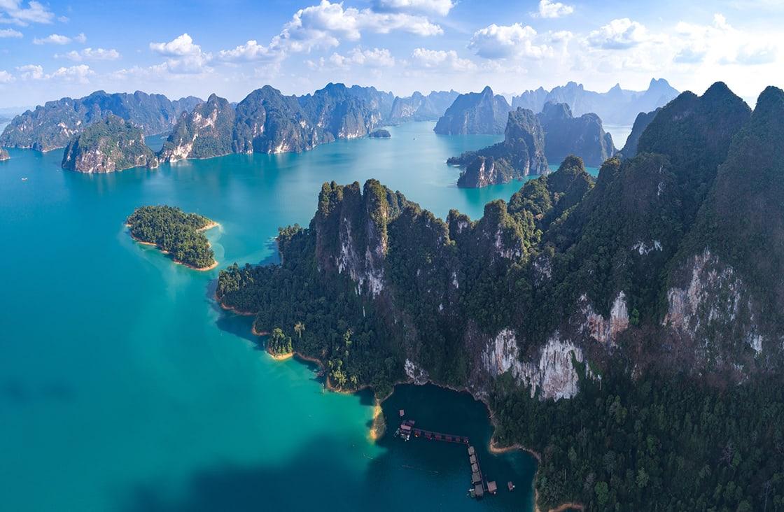 Khao Yai National Park panoramic view