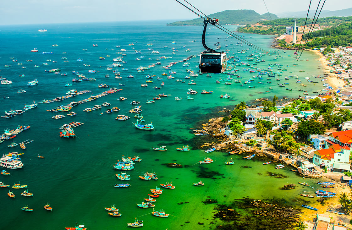 The,Longest,Cable,Car,Situated,On,The,Phu,Quoc,Island