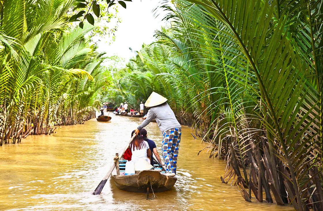 A,Famous,Tourist,Destination,Is,Ben,Tre,Village,In,Mekong