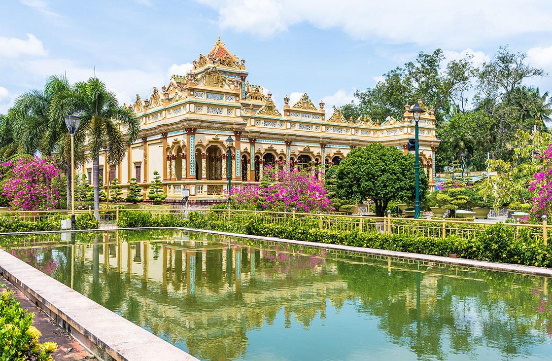 Vinh,Tranh,Pagoda,In,My,Tho,,The,Mekong,Delta,,Vietnam