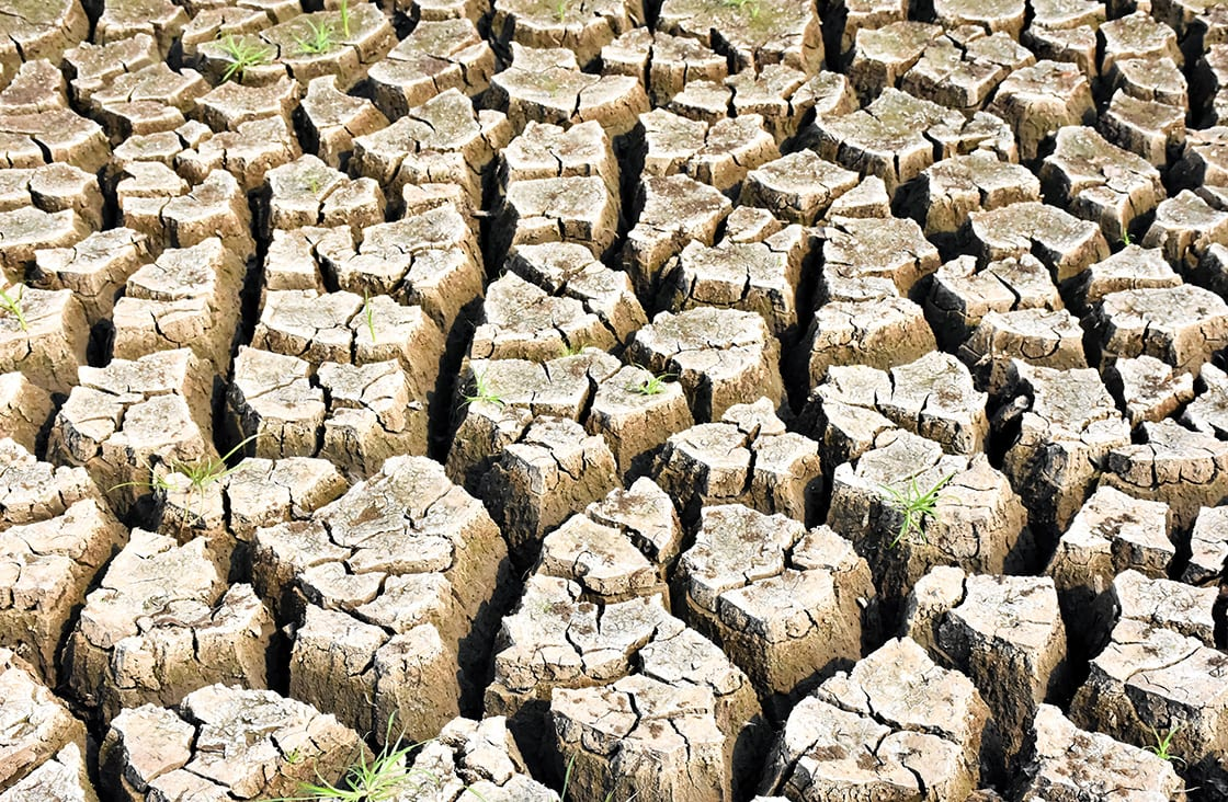 Ground,Cracked,Dry Soil during the dry season in thailand