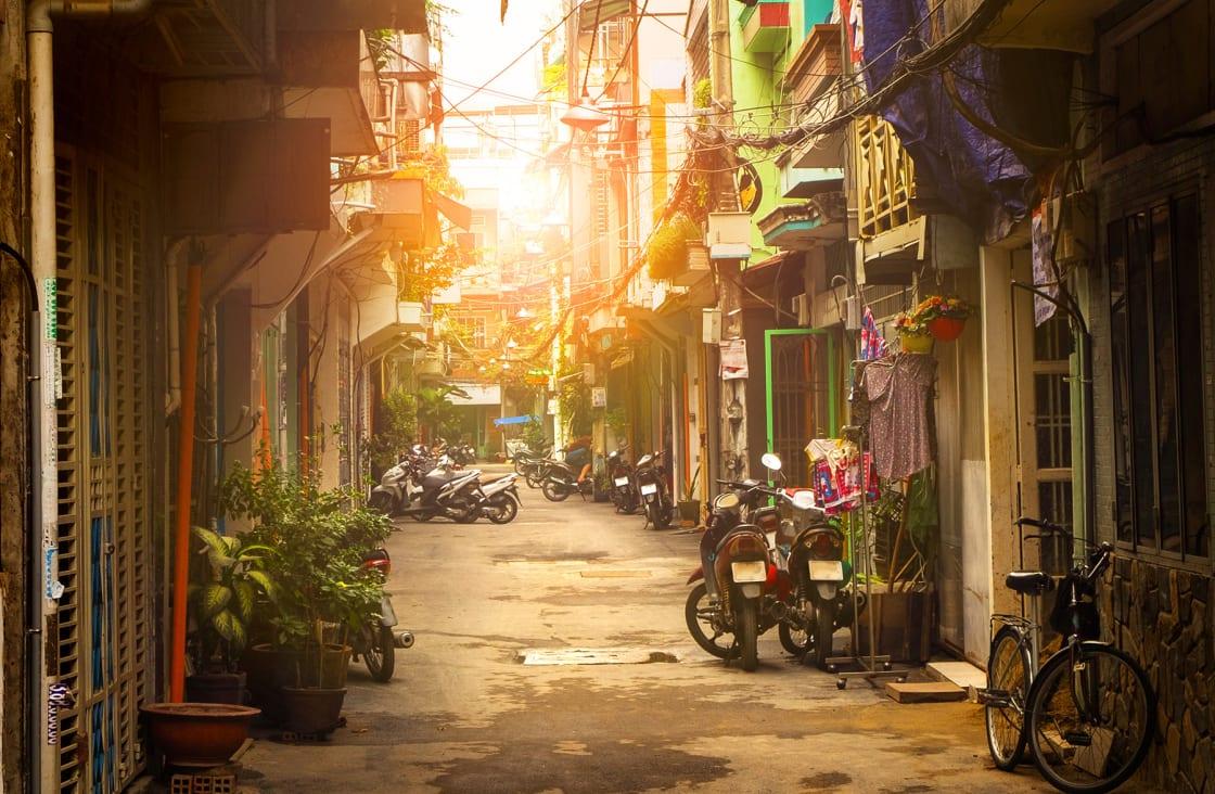 Little,Street,Of,Ho,Chi,Minh,City,,Vietnam