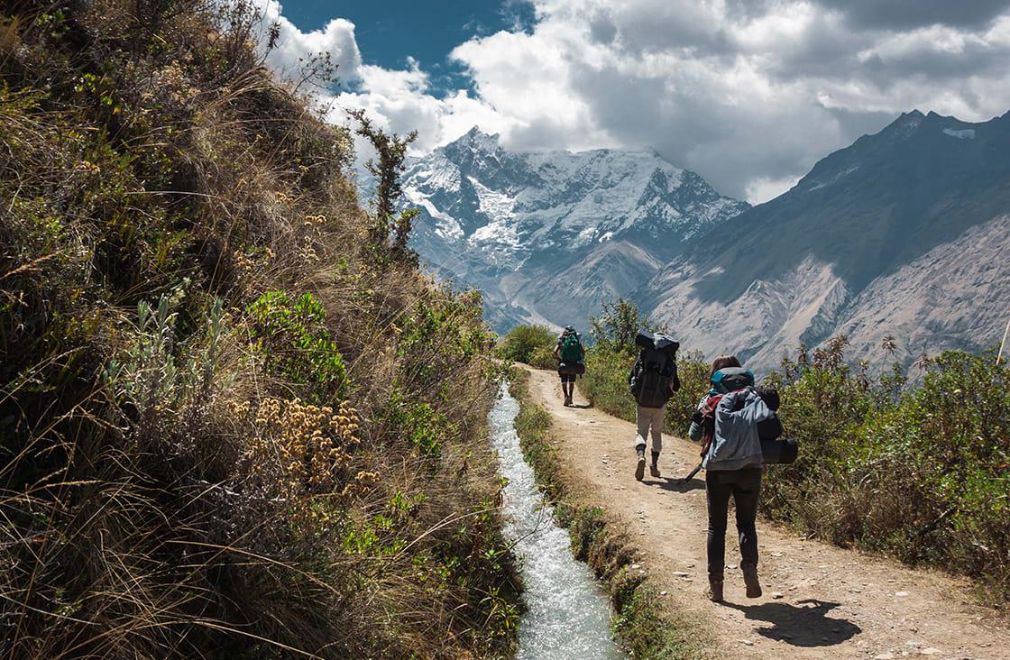 The,Way,On,Salkantay,Trek,,Peru