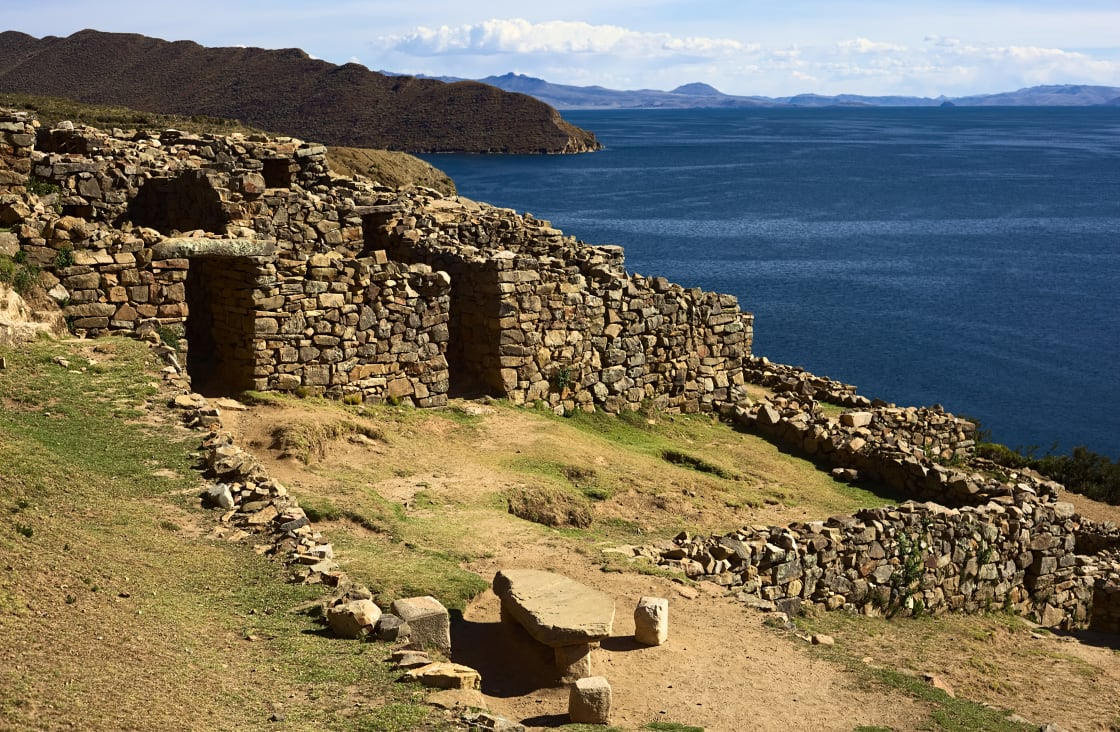 Chinkana,(meaning,Labyrinth,In,Quechua),Archeological,Site,Of,Tiwanaku,(tiahuanaco)
