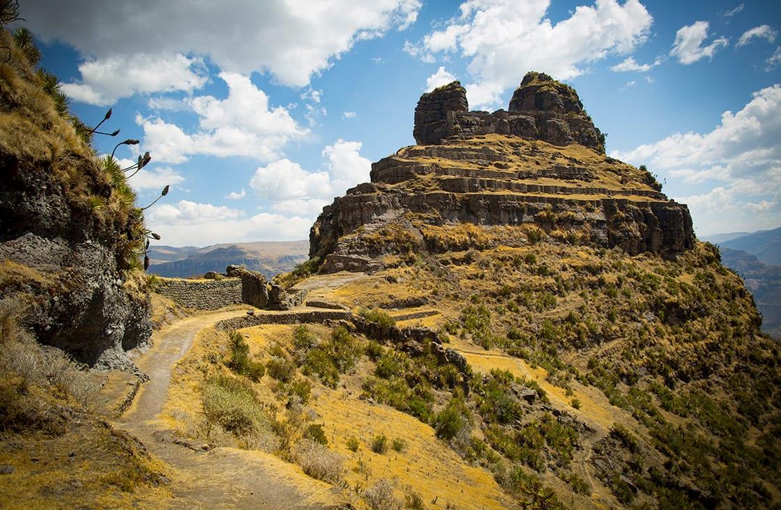The,Ancient,Andean,City,Of,Waqrapukara