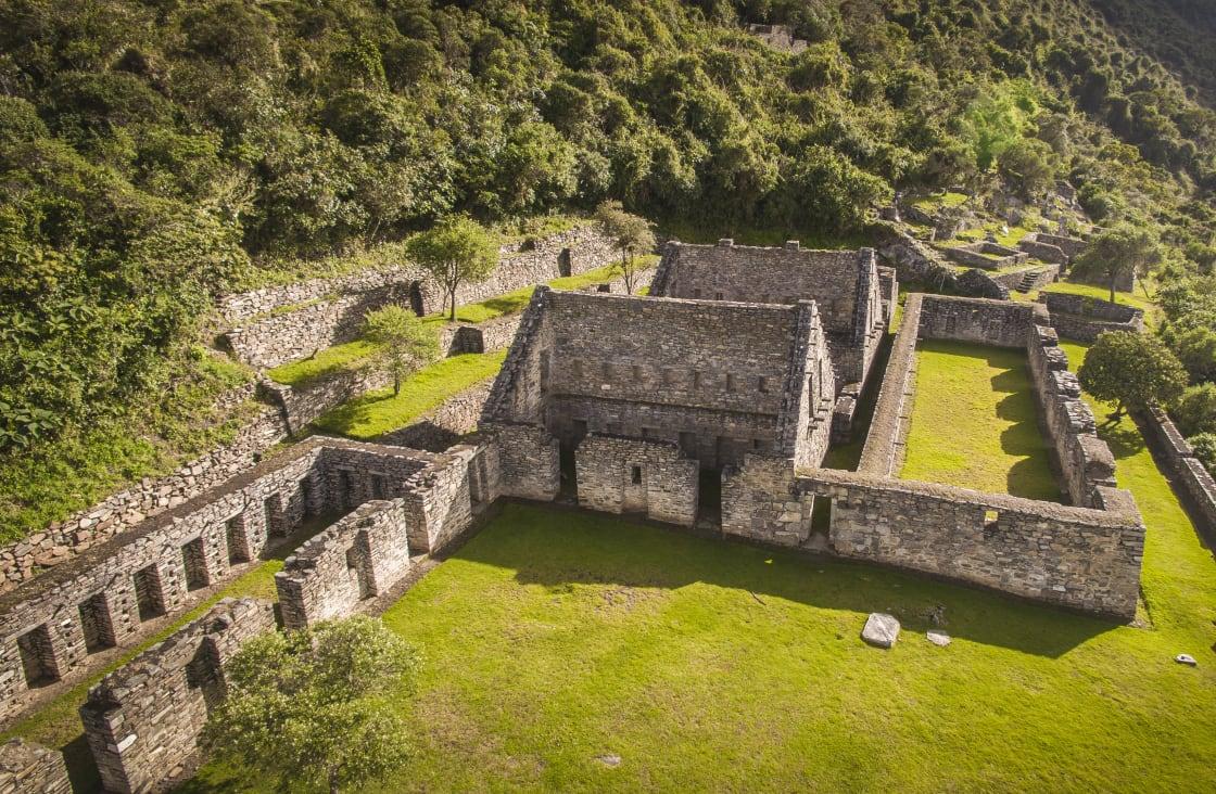 Choquequirao,Is,An,Incan,Site,In,South,Peru